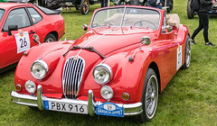 1955 Jaguar XK 140 (Gösta Knochenhauer) Tags: 2019 may panasonic lumix fz1000 dmcfz1000 gärdesloppet prins bertil memorial classic vintage veteran car vehicle stockholm sverige sweden schweden suède svezia suecia mfcfz1000 leica lens 1955 jaguar xk 140