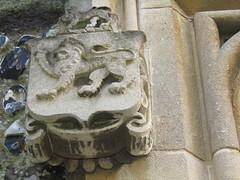 IMG_8275 (belight7) Tags: crest stone lion heritage st marys church uk england 800 years old