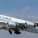 Cathay Pacific Cargo 747 leaving LAX