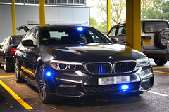 Unmarked Driver Training (S11 AUN) Tags: london metropolitan police bmw 530i msport saloon adt advanced driver training tpac driving school anpr interceptor traffic car roads policing unit rpu 999 emergency vehicle metpolice
