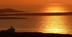 sunset a Paros (angelobrathot) Tags: sea sunset church paros