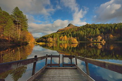 Golden Glencoe (images@twiston) Tags: golden glencoe lochan autumn jetty trees pap papofglencoe loch still water reflection highlands scottish mountain remote scotland landscape mountains imagestwiston nisi nisifilters gnd neutraldensity grad