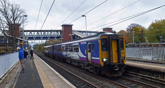 UK - class 156 (onewayticket) Tags: diesel railway trains transport arriva northern arn arrivarailnorth dmu