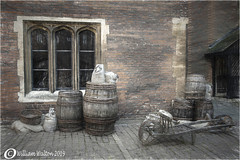 Ale House Delivery(UK) (williamwalton001) Tags: pentaxart historic house heritage wood wagon buildings barrels