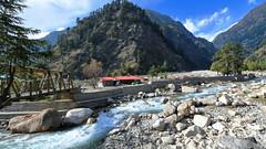 Harsil (Biswajit_Dey) Tags: uttarakhand india landscape hills mountainview river ganges nikond500 touristplace travel gangatri