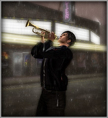 Balada Triste de Trompeta (danlawPR) Tags: secondlife virtualreality realidadvirtual gaming trumpet trompeta music musica pose sadness tristeza soledad loneliness lonely solo dolor pain sorrow