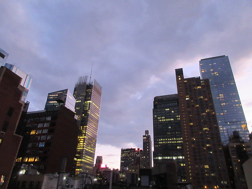 2019 November Evening Clouds Sky NYC 8470