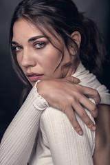 Marica (luca.onnis) Tags: lucaonnis photography portrait portraiture beautifulgirl whiteshirt hand