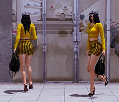 A new Moon in the Hair Sky (anna.ergenthal) Tags: secondlife fashion mode moda beauty sexy ootd