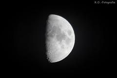 Freihand / Freehand (R.O. - Fotografie) Tags: mond moon freihand freehand ohne stativ without tripod rofotografie outdoor nieheim panasonic lumix dcfz10002 dcfz1000ii