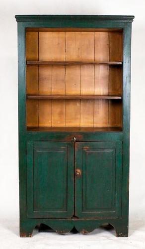 Green flat wall kitchen cupboard ($728.00)