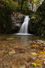Wasserfall am Edelfrauengrab