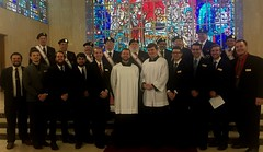 Knights of Columbus joined the Seminary community for Mass and Communion Breakfast on November 3, 2019.