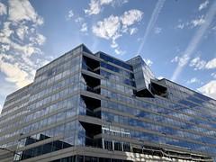 IMF HQ2 against the sky, Pennsylvania Avenue NW, Washington, D.C. (Paul McClure DC) Tags: washingtondc districtofcolumbia nov2019 modern architecture imf sky glass foggybottom