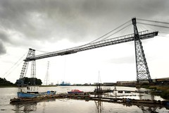89a Newport Transporter Bridge. Photographer unknown (Clementinos2009) Tags: 2011cathedralsexpresstoludlowandshrewsbury11thjune steamdreams 6024kingedwardi newporttransporterbridge