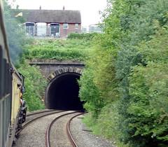 37 Ludlow Tunnel IMGP0624sp (Clementinos2009) Tags: 2011cathedralsexpresstoludlowandshrewsbury11thjune steamdreams 6024kingedwardi ludlowtunnel