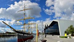 Glenlee (Valantis Antoniades) Tags: glenlee scotland glasgow riverside museum river clyde tall ship modern architecture