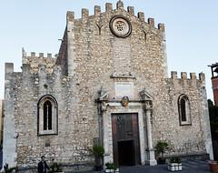 20191011-_BUD5264 Main Square 16 (hirschwrites) Tags: church churchofsaintaugustine earth europe italy other sicily taormina