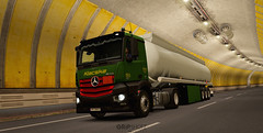 (gripshotz) Tags: klacska romania skin mercedes antos schwarzmuller fuel trailer tanker euro truck simulator ets 2