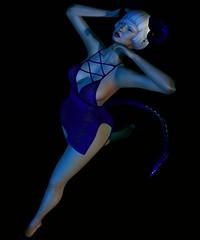 Classy N Sassy's Devil with a blue dress (ft Jess Poses) (Kushy Kloud) Tags: classy sassy devil blue dress jess pose boon new flickr