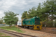 SLRS PW-1 @ Morrisville, PA (Darryl Rule's Photography) Tags: 102 2019 baldwin buckscounty clouds cloudy ds44750 diesel fall november pa pw1 pennwarnerindustrialpark pennsylvania railroad railroads slrs sms shortline train trains