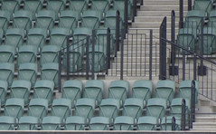 Our Usual Seats (mikecogh) Tags: adelaideoval seats rows empty personal perspective aisle