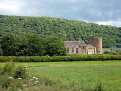42 Stokesay Castle and Ragleth Hill P1030802 14.17 (Clementinos2009) Tags: 2011cathedralsexpresstoludlowandshrewsbury11thjune steamdreams 6024kingedwardi stokesaycastle raglethhill