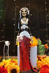Wedding Day (skipmoore) Tags: díademuertos bride marriage figurine