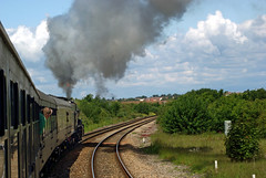 03 6024 pulls away from Bristol Parkway IMGP0467sp (Clementinos2009) Tags: 2011cathedralsexpresstoludlowandshrewsbury11thjune steamdreams 6024kingedwardi bristolparkway