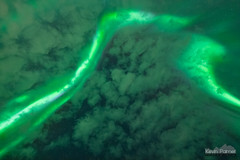 Straight Up Awesome (kevin-palmer) Tags: aurora auroraborealis northernlights geomagneticstorm green night sky stars space astronomy astrophotography glow zenith corona bright fairbanks alaska october fall autumn nikond750 sigma14mmf18 nordaleroad clouds
