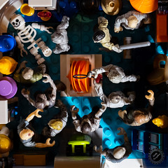 """""""I guess Billy should have gone home for the day."""" (QuirkyPerceptions) Tags: mega construx zombies lego outbreak"""