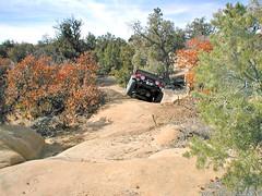 PB050017 e ~ 1999 Jeep TJ (BDC Photography) Tags: farmington newmexico usa jeep 1999 red sport 4x4 offroad olympusdigitalcamera olympusd370 4wheeldrive