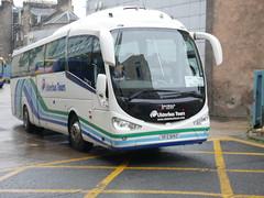 Ulsterbus Scania K360IB4 Irizar i6 SFZ6142 142, in Ulsterbus Tours livery, operating Citylink service 923 to Belfast departing Edinburgh Bus Station on 1 November 2019. (Robin Dickson 1) Tags: busesedinburgh ulsterbus irizari6 scaniak360ib4 citylink sfz6142