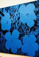 Ten Foot Flowers (1967) - Andy Warhol (1928 - 1987) (pedrosimoes7) Tags: andywarhol flowers azul blue bleu centroculturaldebelem berardocollection belem lisbon portugal popart thefactory 15minutesoffame thevelvetunderground ✩ecoledesbeauxarts✩ contemporaryartsociety