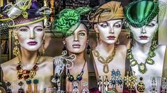 Mannequins in Stockholm, Sweden 16/1 2016. (photoola) Tags: stockholm skyltdockor sweden photoola mannequin jewelery