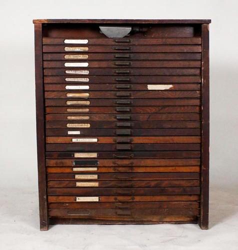 Printer's Cabinet ($420.00)
