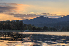 A Glorious Sunset on Lake George (Samantha Decker) Tags: autumn sunset warrencounty upstate lakegeorge newyork canonef24105mmf4lisusm canoneos6d samanthadecker fall ny unitedstatesofamerica