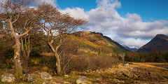 Glen Etive, Scotland(3) (S.R.Murphy) Tags: glenetive highlands landscape lochetive oct2019 scotland panoramic panorama nature lightroomcc fujifilmxt2 fujifilmxf1680mm glenceitlein lee06ndgrad