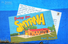 Greetings from Smyrna mural - Depot District - Smyrna, Tennessee (J.L. Ramsaur Photography) Tags: jlrphotography nikond7200 nikon d7200 photography photo smyrnatn middletennessee rutherfordcounty tennessee 2019 engineerswithcameras depotdistrict photographyforgod thesouth southernphotography screamofthephotographer ibeauty jlramsaurphotography photograph pic smyrna tennesseephotographer smyrnatennessee tennesseehdr hdr worldhdr hdraddicted bracketed photomatix hdrphotomatix hdrvillage hdrworlds hdrimaging hdrrighthererightnow mural art greetingsfromsmyrna visitrutherfordtn sign signage it'sasign signssigns iseeasign signcity ruralsouth rural ruralamerica ruraltennessee greetingsfromsmyrnamural greetingsfromsmyrnasign greetingsfromsmyrnaart greetingsfromsmyrnapainting postcard