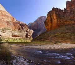 Zion National Park, Utah, Virgin river (swissuki) Tags: zion national nature park main mountain cable valley virgin largelandscape landscape usa ut utah