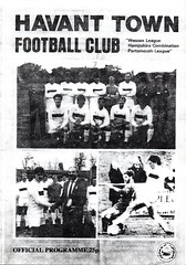 Havant Town v Bournemouth (Havant & Waterlooville) Tags: havant waterlooville bournemouth wessex league football programme