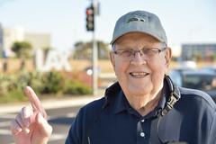 Dad at LAX (Ian E. Abbott) Tags: dad losangelesinternationalairport lax sepulvedaboulevard sepulvedablvd