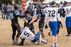Good Sportsmanship (Kim Tashjian) Tags: highschool football sports montana
