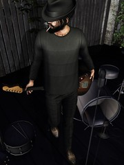 ☠ ACOUSTIC (Shock Q'Kell) Tags: secondlife sl lelutka head guy mesh bento body signature gianni realevil rings tmd themens event vango hair slhair hat vangohair hairhat deadwool pants shoes etham shirt magnificent beard facialhair hipster style fashion moda slmoda photo slphoto picture slpicture bloggers slbloggers male men man boy mainstore store