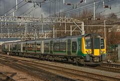 "London Northwestern Class 350/2 ""Desiro"" EMU No. 350 247 approaches Crewe on 9 Oct 2012 (Trains and trams eveywhere) Tags: londonnorthwesternrailway londonmidland 3502desiro class350 crewe england railways trains nationalrail"
