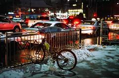 1943/1721 (june1777) Tags: snap street alley seoul night light bokeh soviet russian kiev 4 kiev4 jupiter 8 50mm f2 agfa vista 400
