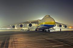 Antonov-225 (tzhskz) Tags: antonov mriya an225 aircraft airport ala uaaa jet freight ur82060 apron