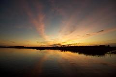 bay sunset (primemundo) Tags: cedarbonnetisland manahawkin sunset reflection wetreflections reflections horizon landscape odc