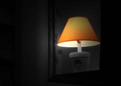 Night Light (kfocean01) Tags: night summer light blackandwhite selectivecolor create creativity orange shadows abstract photoshop art nighttime photomanipulation creativephotography color