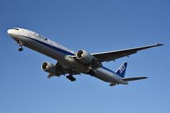 ANA 777 JA732A at LAX (Ian E. Abbott) Tags: boeing 777381er 777300 777 allnipponairways ana ja732a 27038 losangelesinternationalairport losangeles klax lax